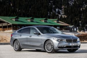 BMW 630i Gran Turismo Luxury Line 2017 года
