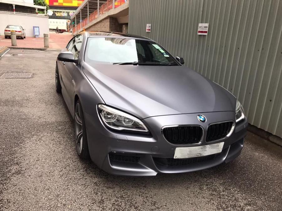 BMW 650i Gran Coupe M Sport Gloss Anthracite by Impressive Wrap