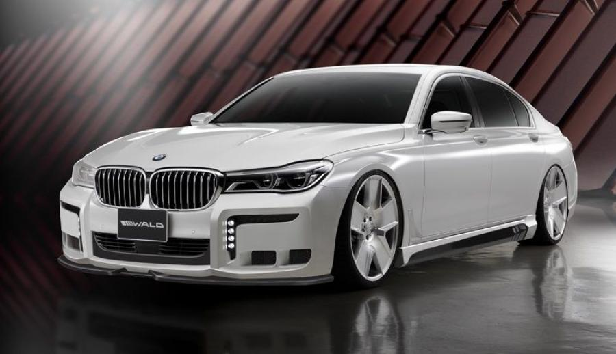 BMW 7-Series Black Bison by Wald