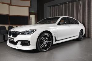 2017 BMW 740Le xDrive M Sport by Abu Dhabi Motors