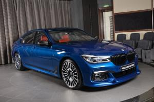 BMW 750Li xDrive Avus Blue by Abu Dhabi Motors