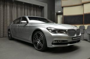 2017 BMW 760Li xDrive V12 Pure Excellence Design by Abu Dhabi Motors