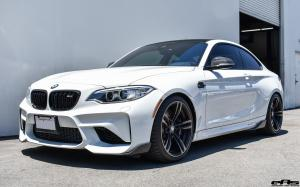 BMW M2 Coupe Alpine White Black Roof by EAS 2017 года