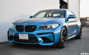 2017 BMW M2 Coupe Long Beach Blue Metallic by EAS