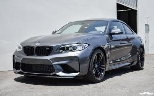 BMW M2 Coupe Mineral Grey by RKP and Lightweight and EAS 2017 года