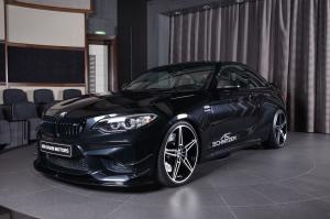 2017 BMW M2 Coupe Sapphire Black by AC Schnitzer and Abu Dhabi Motors