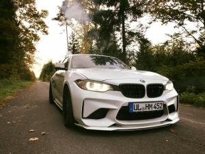 2017 BMW M2 Coupe by Tuning Magazin and Hamann