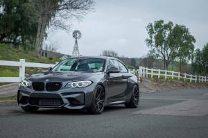 2017 BMW M2 Coupe on Vorsteiner Wheels (V-FF 103)