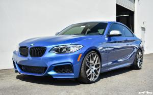 2017 BMW M235i Estoril Blue by Dinan and EAS