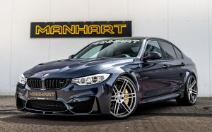 BMW M3 MH3 550 30 Years Edition by Manhart Racing 2017 года