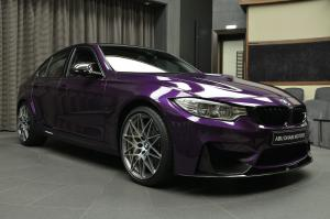2017 BMW M3 Sedan Competition Package in Twilight Purple by Abu Dhabi Motors
