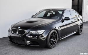 BMW M3 Sedan Jet Black by EAS on Titan 7 Wheels (T-S5) 2017 года