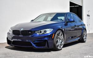 2017 BMW M3 Sedan Tanzanite Blue Metallic by EAS