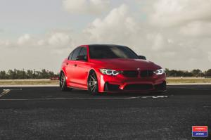 2017 BMW M3 Sedan X Work on Vossen Wheels (VWS-1)