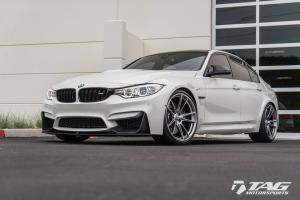 2017 BMW M3 Sedan by TAG Motorsports on HRE Wheels (FF04)