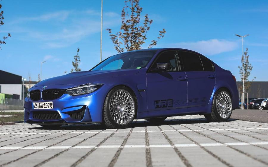 BMW M3 Sedan on HRE Wheels (501M)