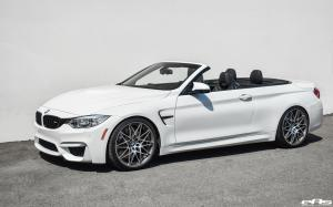 BMW M4 Convertible Alpine White by Macht Schnell and EAS