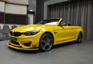 BMW M4 Convertible Speed Yellow by AC Schnitzer and Abu Dhabi Motors