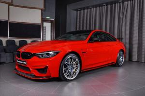 2017 BMW M4 Coupe Ferrari Red M Performance by Abu Dhabi Motors