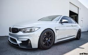 2017 BMW M4 Coupe Silverstone Grey by iND and EAS