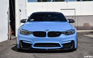 2017 BMW M4 Coupe Yas Marina Blue by EAS