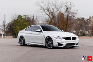 2017 BMW M4 Coupe by EVS Motors on Vossen Wheels (VFS5)