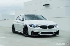BMW M4 Coupe by TAG Motorsports on Vossen Wheels (HC-1) 2017 года