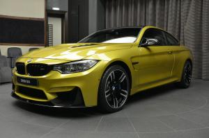 2017 BMW M4 Coupe in Austin Yellow by Abu Dhabi Motors