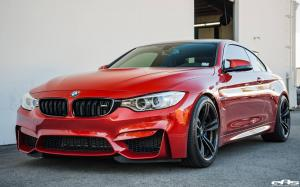 BMW M4 Coupe in Sakhir Orange by EAS 2017 года