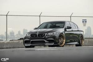 BMW M5 Jatoba Brown by CLP Automotive on ADV.1 Wheels (ADV15R TRACK SPEC CS) 2017 года