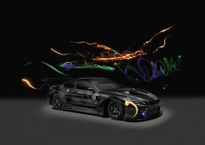 2017 BMW M6 GT3 Art Car by Cao Fei