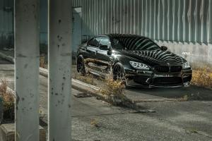 BMW M6 Gran Coupe on ADV.1 Wheels (ADV5.2 TS CS) 2017 года