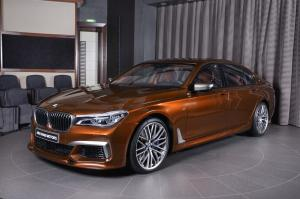 2017 BMW M760Li in Chestnut Bronze by 3D Design and Abu Dhabi Motors