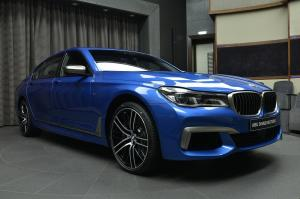 BMW M760Li xDrive V12 Excellence by Abu Dhabi Motors 2017 года