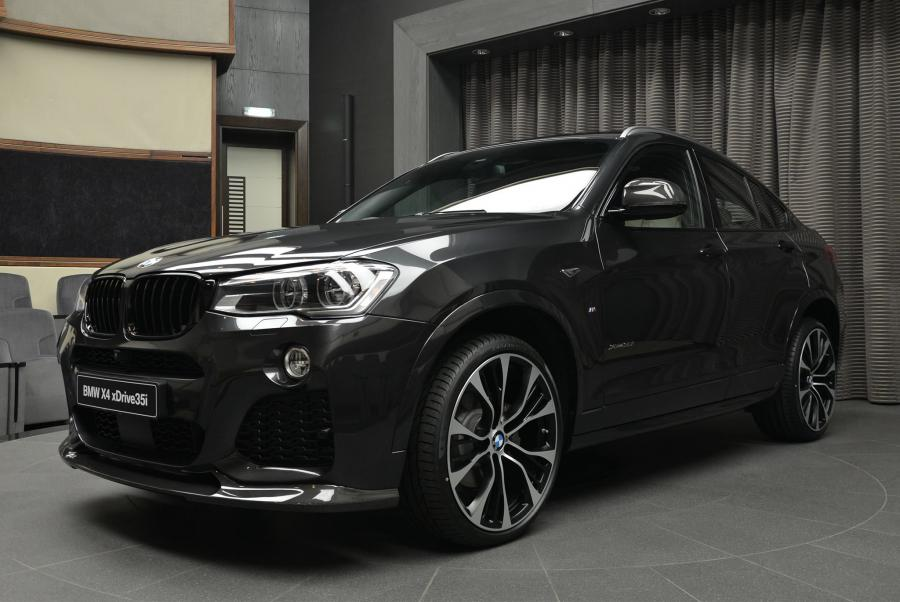 BMW X4 xDrive 35i in Sophisto Grey by 3D Design and Abu Dhabi Motors