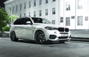 2017 BMW X5 M Alpine White on ADV.1 Wheels (ADV6 M.V2 CS CS)