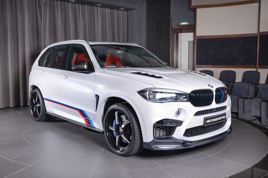 BMW X5 M by 3D Design and Abu Dhabi Motors
