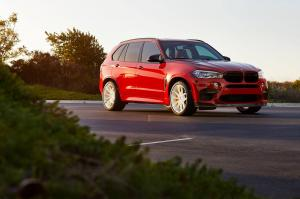 BMW X5 M on HRE Wheels (P201) 2017 года