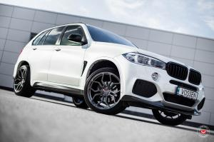 BMW X5 on Vossen Wheels (HC-3) 2017 года