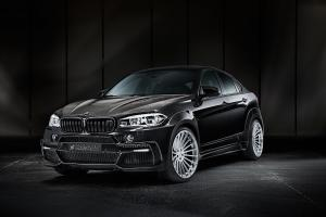 BMW X6 M on Hamann Wheels 2017 года