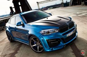 BMW X6 M on Vossen Wheels (VPS-303) 2017 года
