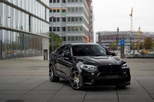 2017 BMW X6 M MHX6 700 Black by Manhart Racing