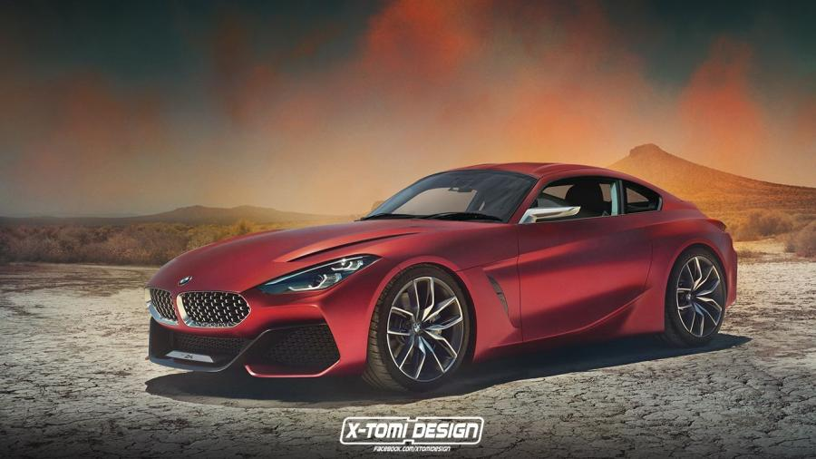 BMW Z4 Coupe Concept by X-Tomi Design
