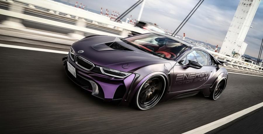 BMW i8 Dark Knight Edition by Energy Motor Sport