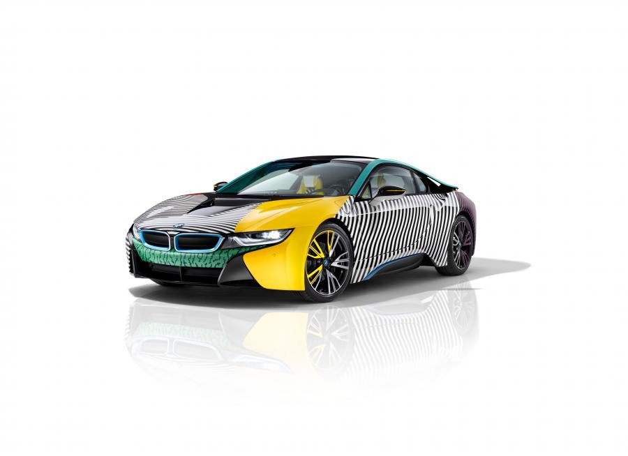 BMW i8 MemphisStyle Edition by Garage Italia Customs