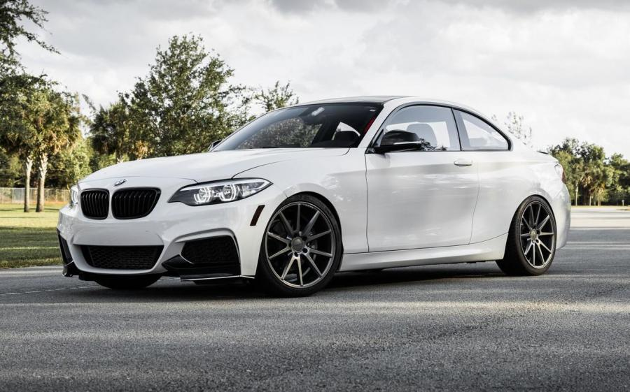 BMW 228i M Sport Coupe on Vossen Wheels (VFS-1)