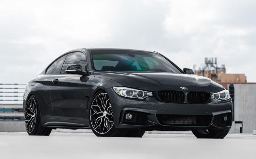BMW 435i Coupe on Vossen Wheels (HF-2)