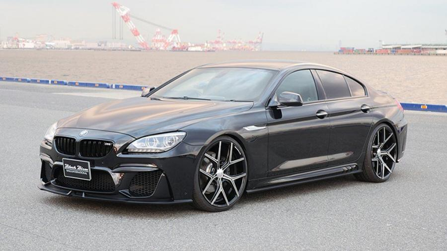 BMW 6-Series Gran Coupe Black Bison by Wald
