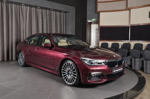 2018 BMW 740Li Luxury Individual M Sport Package by Abu Dhabi Motors