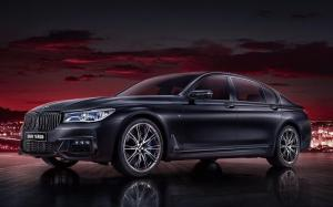 BMW 740Li xDrive M Sport Black Fire Edition 2018 года